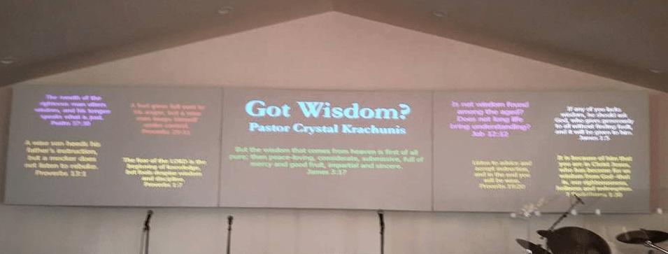 Got Wisdom? - Faith and Victory Church