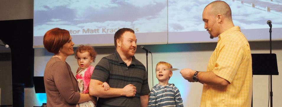 citizen of heaven - child dedication