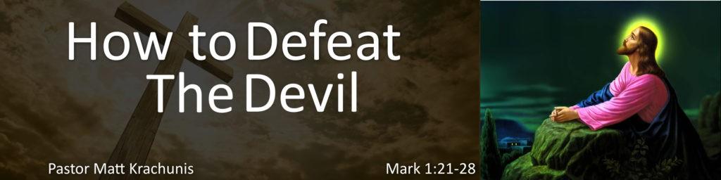 defeat the devil