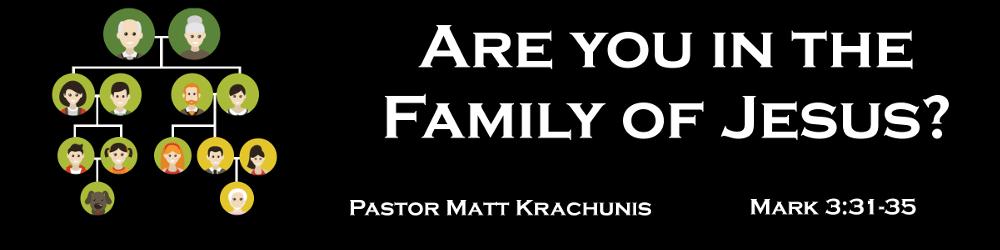 family of Jesus