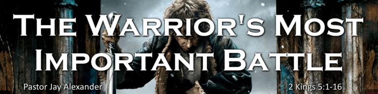 warrior for Christ