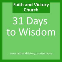 31 Days to Wisdom
