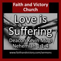 Love is suffering.