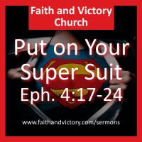 Put on Your Super Suit