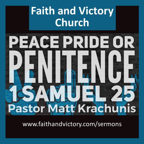 Peace Pride or Penitence