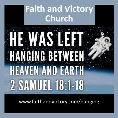 He Was Left Hanging Between Heaven and Earth