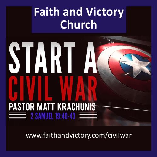 Start a Civil War